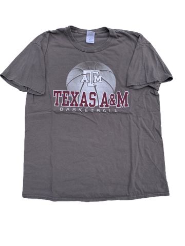 Wendell Mitchell Texas A&M Team Issued T-Shirt (Size L)