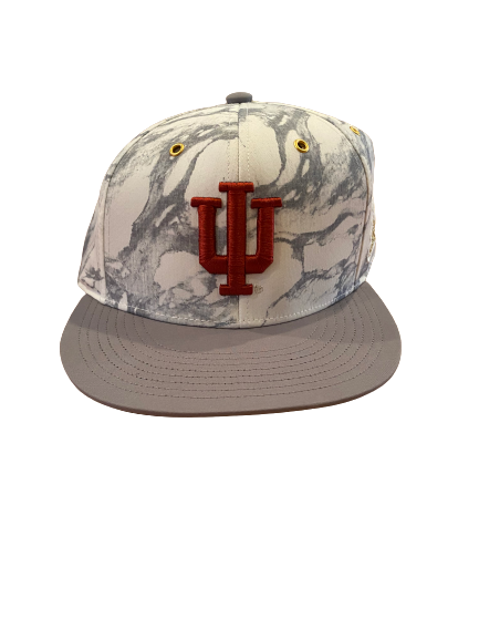 Cooper Bybee Indiana Basketball Team Issued Snapback Hat
