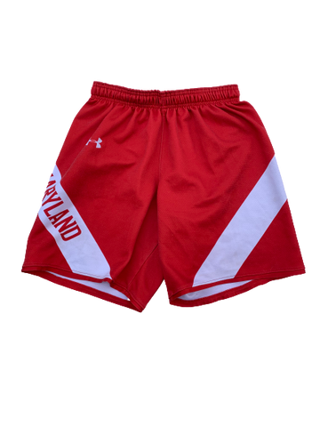 Anthony Cowan Maryland Team Issued Practice Shorts (Size S)