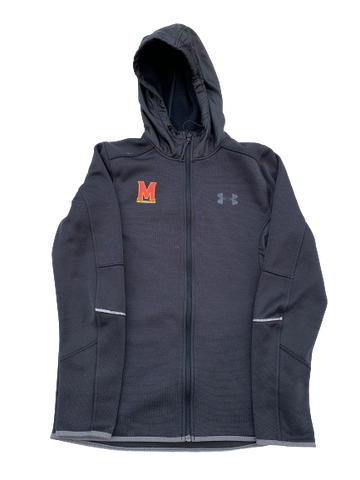 Anthony Cowan Maryland Team Issued Full-Zip Jacket (Size S)