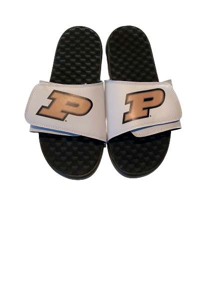 Ryan Cline Purdue Basketball Slides (Size 13)