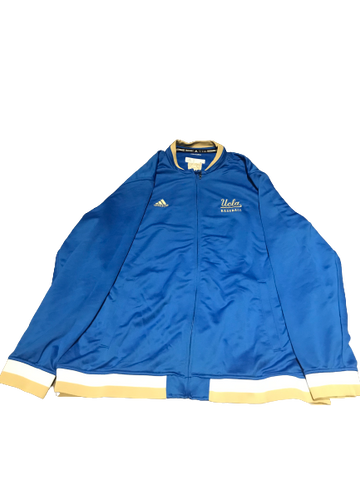 Zander Clarke UCLA Baseball Team Exclusive Full-Zip Jacket (Size XL)