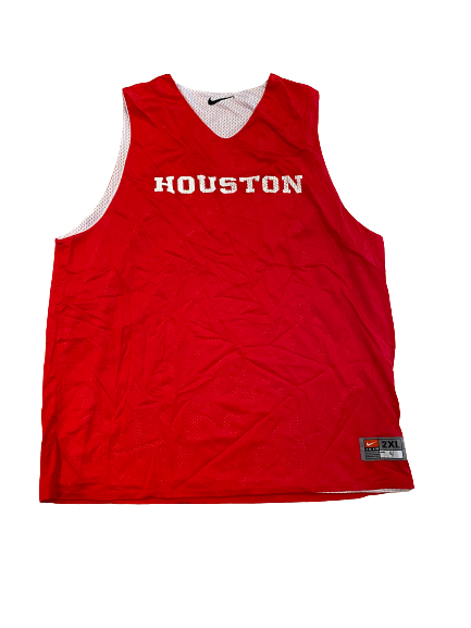 LeRon Barnes Houston Basketball Exclusive Reversible Practice Jersey (Size XXL)