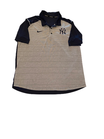 Brandon Lockridge New York Yankees Polo Shirt (Size XL)