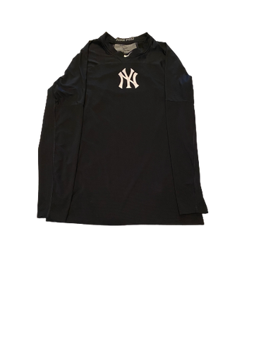 Brandon Lockridge New York Yankees Long Sleeve Shirt (Size L)