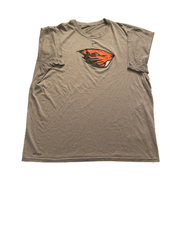 Grant Gambrell Oregon State Baseball Team Issued Workout Shirt (Size XL)