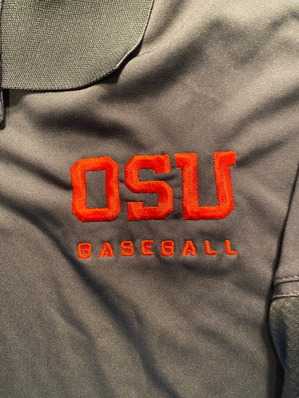 Grant Gambrell Oregon State Baseball Team Issued Polo Shirt (Size XL)
