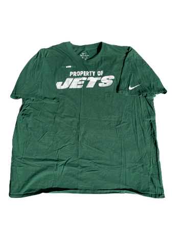 Lord Hyeamang New York Jets Team Issued T-Shirt (Size XXL)