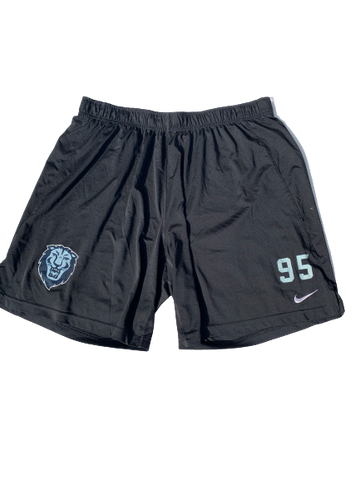 Lord Hyeamang Columbia Team Issued Workout Shorts with Number (Size XXL)