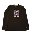 Alex Miller Northwestern Football Long Sleeve Shirt (Size XXL)