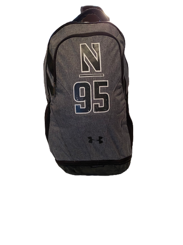 Alex Miller Northwestern Football Team Exclusive Backpack