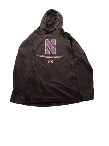 Alex Miller Northwestern Football Sweatshirt (Size XXL)
