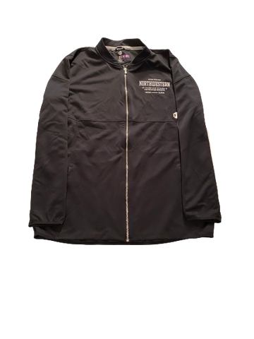 Alex Miller Northwestern Football Team Exclusive Full-Zip Jacket (Size XXLT)