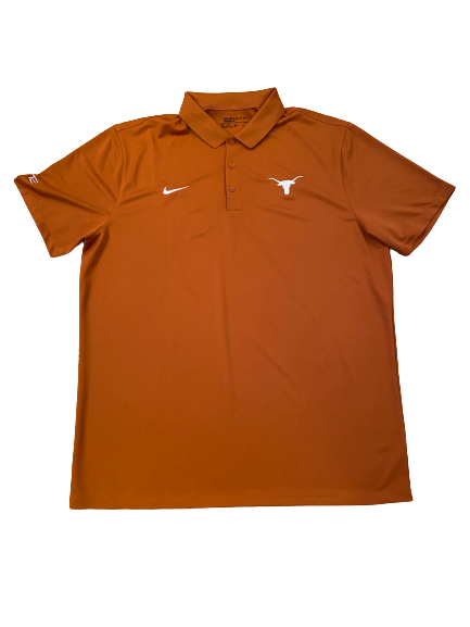 Joe Schwartz Texas Basketball Team Issued Polo Shirt (Size XL)