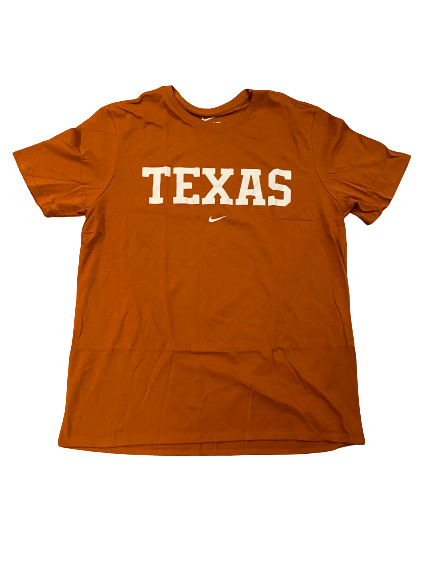 Joe Schwartz Texas Basketball Team Issued T-Shirt (Size XL)