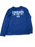 Dayan Lake Nike BYU Cougars Long Sleeve Shirt