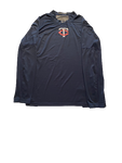 J.T. Perez Minnesota Twins Team Issued Long Sleeve Workout Shirt (Size XL)