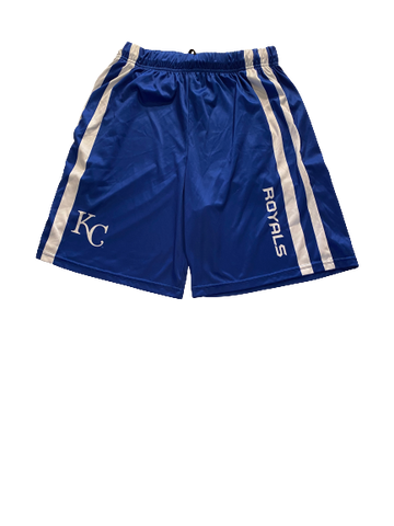 Noah Murdock Kansas City Royals Team Issued Workout Shorts (Size XL)
