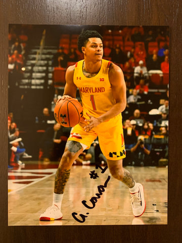 Anthony Cowan Autographed 8x10 Photo