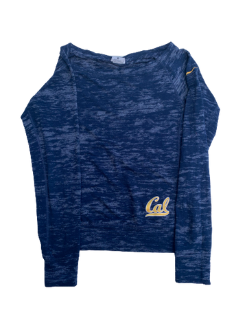 Toni-Ann Williams Cal Gymnastics Team Issued Long Sleeve Shirt (Women's Size XS)