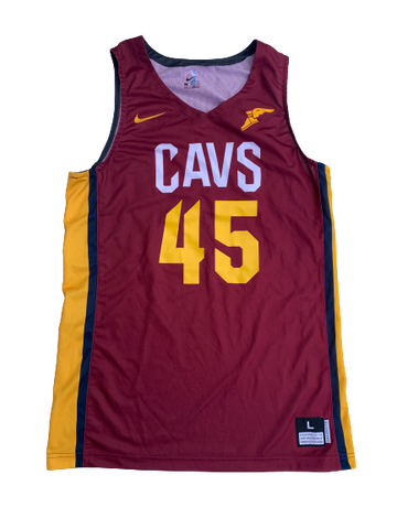 Anthony Lawrence Cleveland Cavaliers Summer League Game Worn Jersey (Photo Matched)