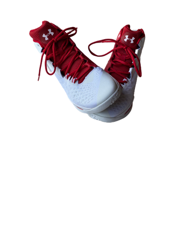 Khalil Iverson Wisconsin Under Armour Game-Worn Shoes
