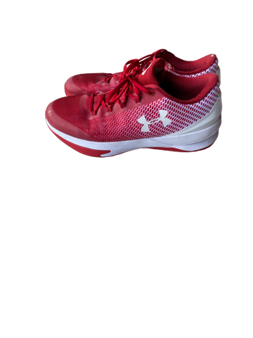 Khalil Iverson Wisconsin Under Armour Team-Issued Sneakers
