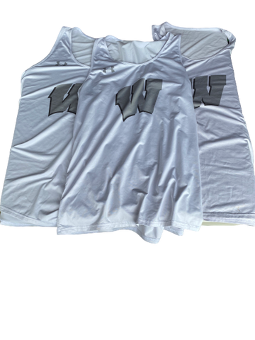 Khalil Iverson Wisconsin Under Armour Workout Tanks (Set of 3)