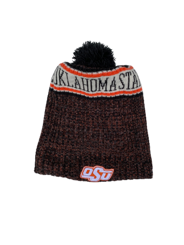 Kaden Polcovich Oklahoma State Team Issued Beanie Hat