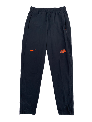 Kaden Polcovich Oklahoma State Team Issued Sweatpants (Size M)