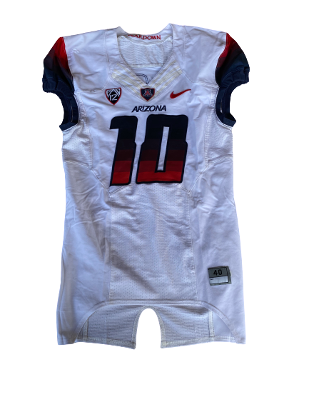 Malcolm Holland Arizona Football Game-Worn Jersey (Size 40)