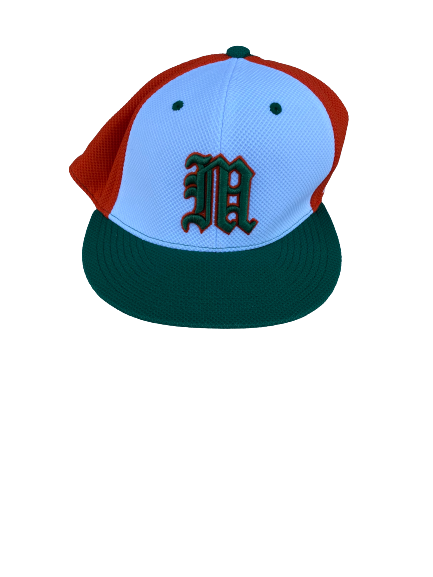 Slade Cecconi Miami Baseball Game Hat (Size 7 1/8)