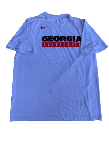 Mike Edwards Georgia Team Issued Workout Shirt (Size XL)