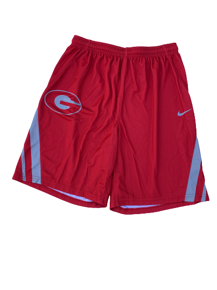Mike Edwards Georgia Team Exclusive Practice Shorts (Size XL)