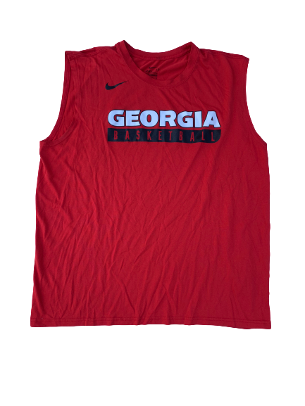 Mike Edwards Georgia Team Issued Workout Tank (Size XL)