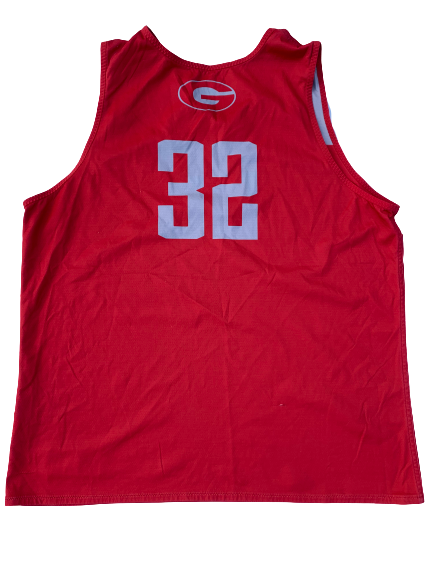 Mike Edwards Georgia Basketball Reversible Practice Jersey (Size XL)
