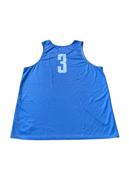 Kennedy Meeks UNC Basketball Reversible Practice Jersey (Size XXL)