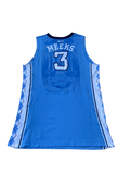 Kennedy Meeks UNC Basketball 2014-2015 Season Game-Worn Jersey (Size 52)