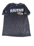 Elliott Fry Baltimore Ravens Workout Shirt (Size XL)