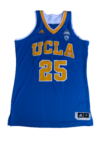 Monique Billings UCLA Signed Game Worn Jersey
