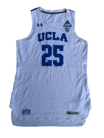 Monique Billings UCLA Game Worn Jersey - Photo Matched