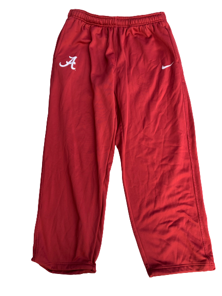 Matt Womack Alabama Team Issued Sweatpants (Size XXL)