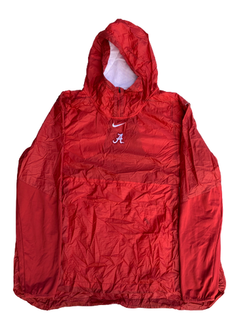 Matt Womack Alabama Team Issued Windbreaker Pullover (Size XXXL)