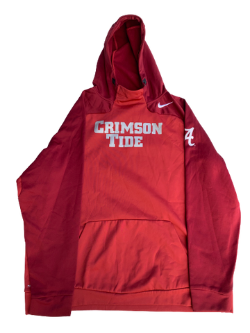 Matt Womack Alabama Team Issued Sweatshirt (Size XXL)