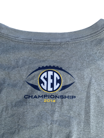 Matt Womack Alabama Player Issued SEC Championship Long Sleeve Shirt (Size XXL)
