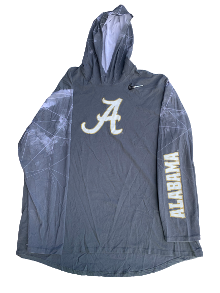 Matt Womack Alabama Team Issued Hoodie (Size XXXL)