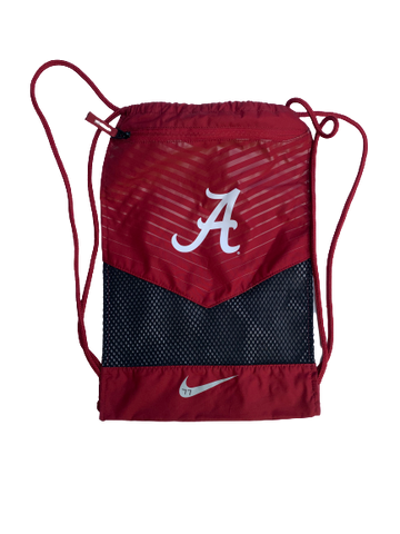 Matt Womack Alabama Team Issued Draw String Bag
