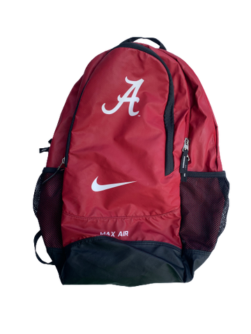 Matt Womack Alabama Player Issued Backpack