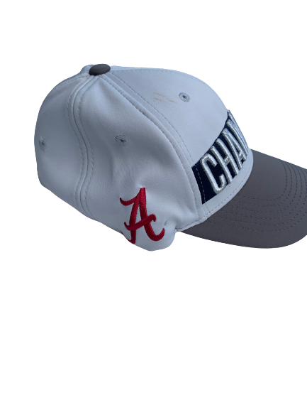 Matt Womack Alabama Player Issued 2018 SEC Champions Hat