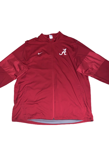 Dallas Warmack Alabama Team Issued Travel Jacket (Size XXL)